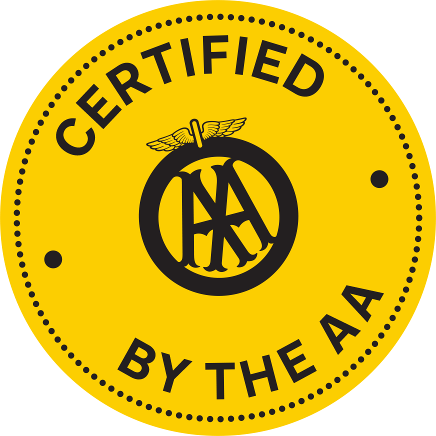 Saunders Certified by the AA