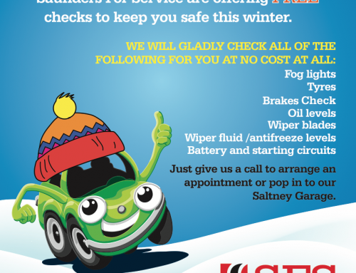 Get your Car Ready for Winter 2019! FREE checks available at our Saltney Garage