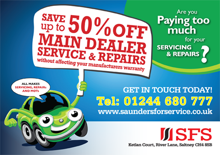 Special offers - Saunders for Service