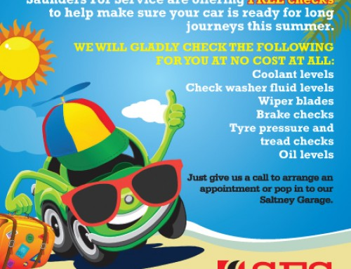 Get your car ready for those long summer drives